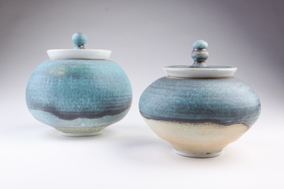 Jars 2013.  High Fire Porcelain.  Photo Credit:  Nick Missel